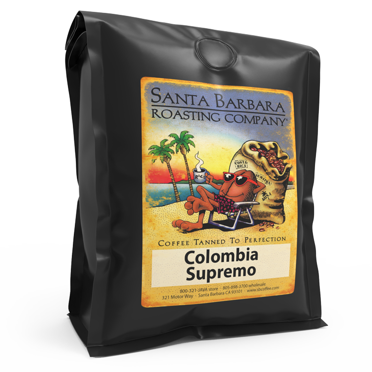 Colombia Supremo - Coffee - Santa Barbara Roasting Company