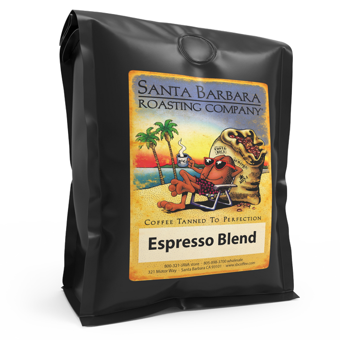 Espresso Blend - Coffee - Santa Barbara Roasting Company