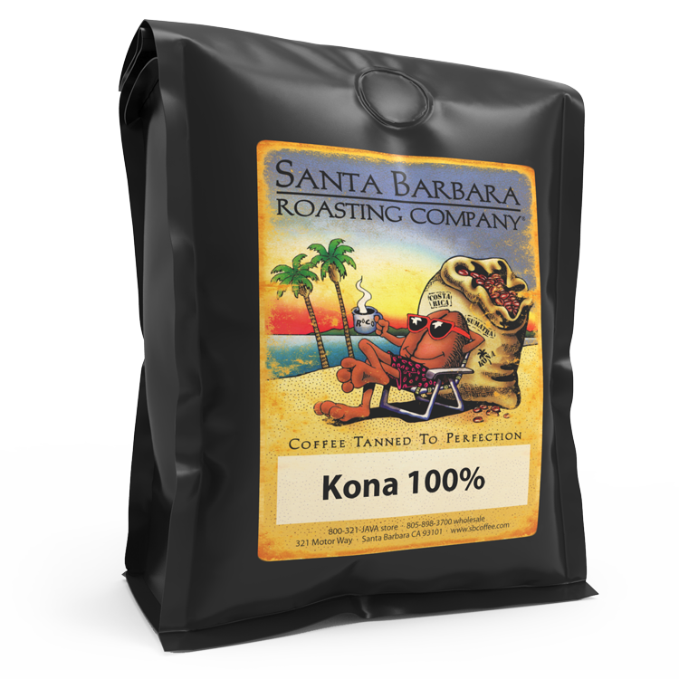 Kona 100% - Coffee - Santa Barbara Roasting Company