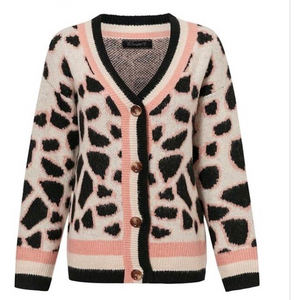 Ladies Leopard Print Cardigan - Modest Necessities
