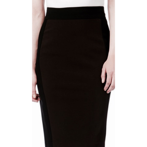 Paniz ladies ponte pencil stretch skirt ES037 - Modest Necessities