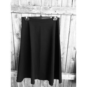 "Ladies Ponte Flair Skirt 25"" 407 - Modest Necessities"