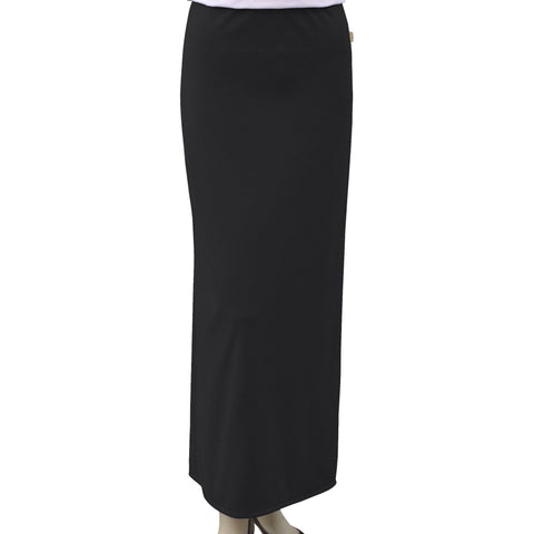 Baby O Ladies Long Basic Straight Skirt (burberry tag) 8472 - Modest Necessities