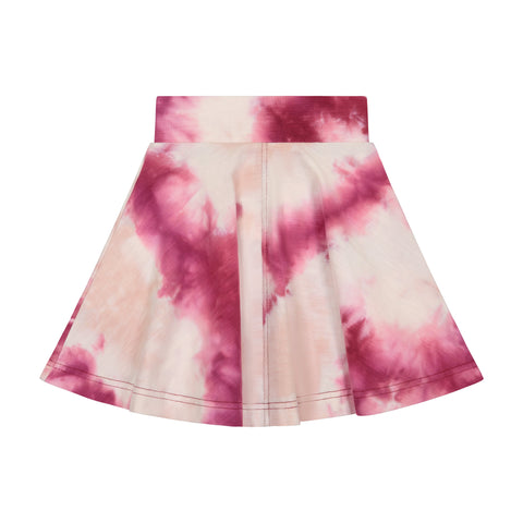 Teela Tie Dye Flair Skirt (4 colors)