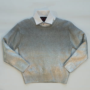 Tween/Teen Metallic Sweater 741