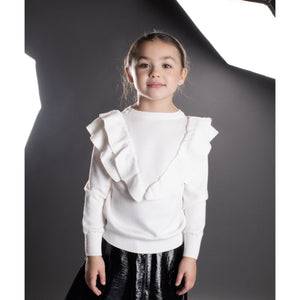 Girls/Tween Ruffle Sweater