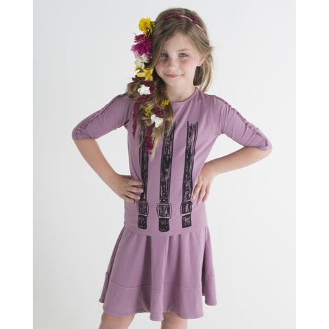 Girls Belt Tee JJA8054A - Modest Necessities