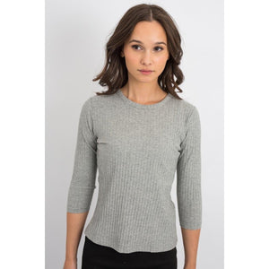 Girls Ribbed Meriden Tee 3197K - Modest Necessities