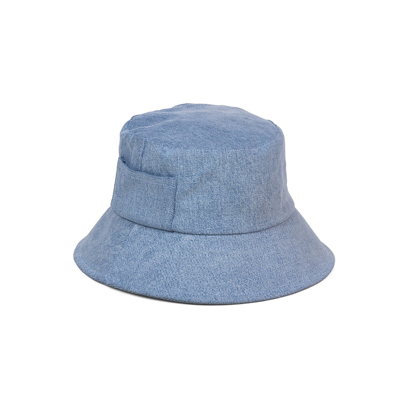Wave Bucket Hat - Eco Denim