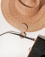 Round Hat Holder - TOPTOTE x LOC - Beige