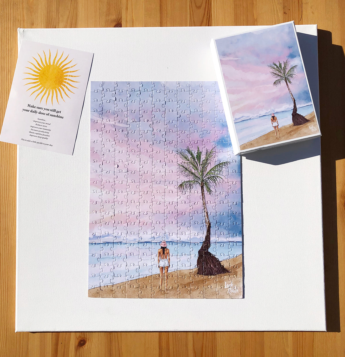 Free Gift With Purchase - Custom LOC Tropics Puzzle