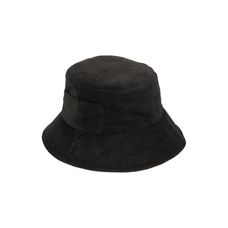 Wave Bucket - Black Terry