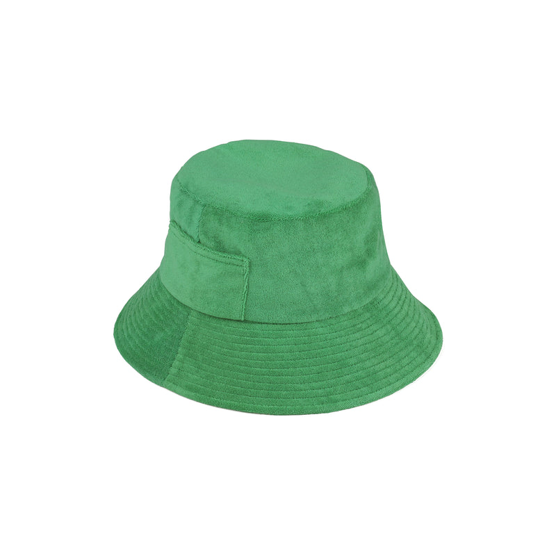 Wave Bucket - Green Terry