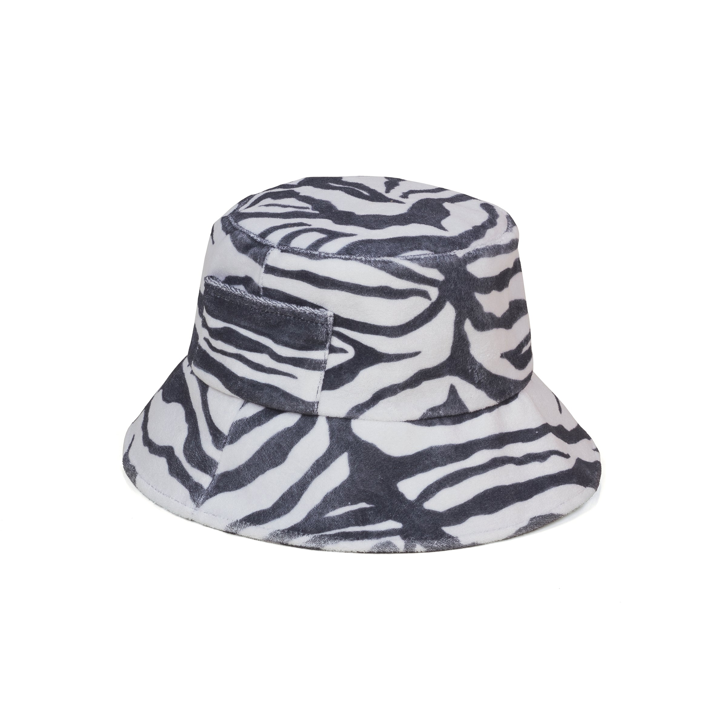 Wave Bucket - Zebra