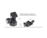 SUNWAYFOTO 2-Way Head Screw Knob Clamp DT-02D50
