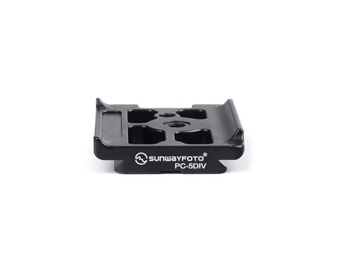 SUNWAYFOTO PC-5DIV Custom Plate for Canon 5D mk IV