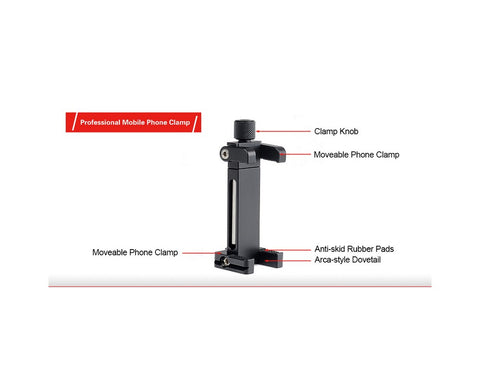 SUNWAYFOTO CPC-02 Mobile Phone Clamp