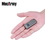 MECARMY SGN3 USB Rechargeable Multifunction Flashlight Black