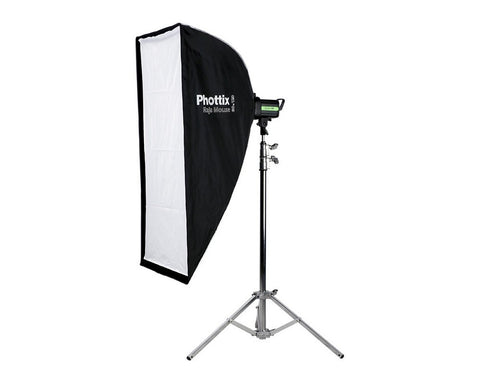PHOTTIX Raja Mouse Quick-Folding Softbox 60x120cm