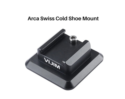 ULANZI 1336 Arca Swiss to Cold Shoe Adapter