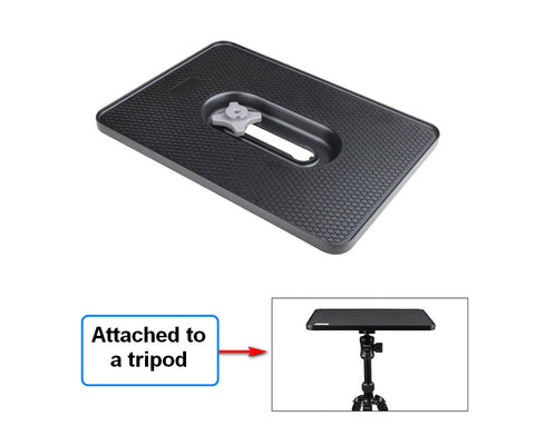 KUPO KS-301B ALUMINUM TABLE FOR LAPTOPS & PROJECTOR W/NON-SLIP PAD
