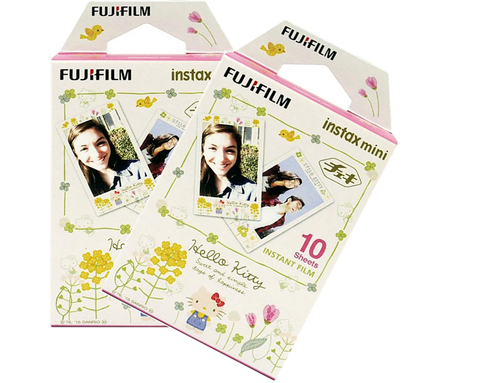 Fujifilm Instax Mini Film (Kitty3) 10 Pack Bundle
