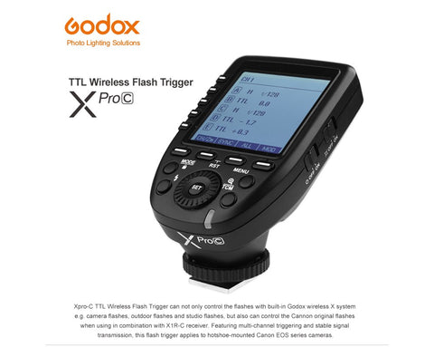 GODOX Xpro TTL Wireless Flash trigger /Canon