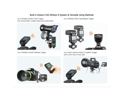 GODOX Xpro TTL Wireless Flash trigger /Nikon