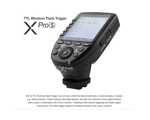 GODOX Xpro TTL Wireless Flash trigger /Sony