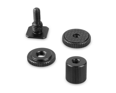 SMALLRIG 1562 1/4'' Thread Cold Shoe Adapter with 1/4'' Thread Barrel Nut