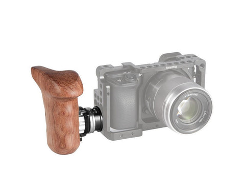 SMALLRIG 2083 Right Side Wooden Grip with Arri Rosette Bolt-On Mount