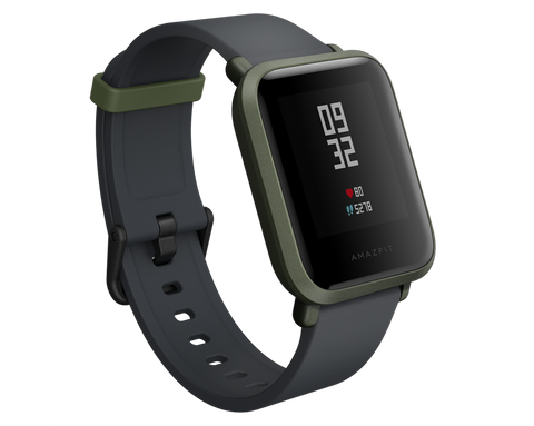 Amazfit BIP GPS Smart Sports Watch Kokoda Green