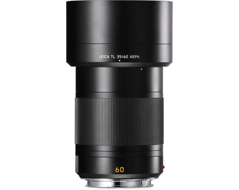 Leica APO-MACRO-ELMARIT-TL 60mm f/2.8 (Black Anodized Finish)