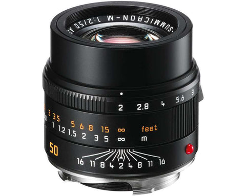 Leica APO-SUMMICRON-M 50mm f/2 ASPH. (Black Anodized Finish)