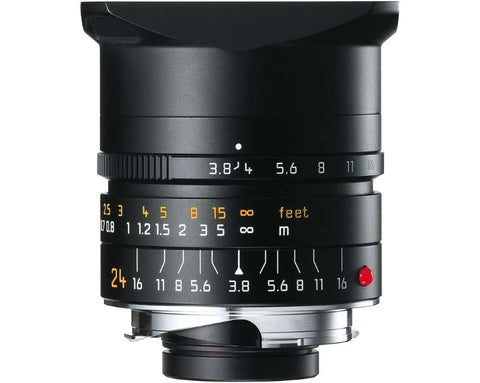 Leica ELMAR-M 24mm f/3.8 ASPH. (Black Anodized finish)