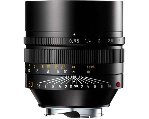 Leica NOCTILUX-M 50mm f/0.95 ASPH. (Black Anodized Finish)