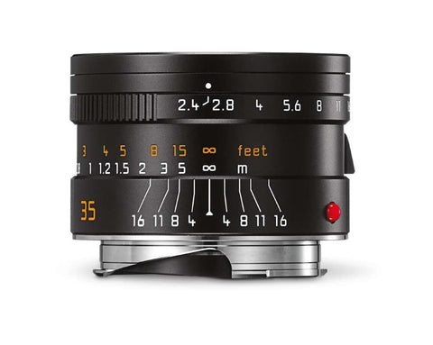 Leica SUMMARIT-M 35mm f/2.4 ASPH. (Black Anodized Finish)