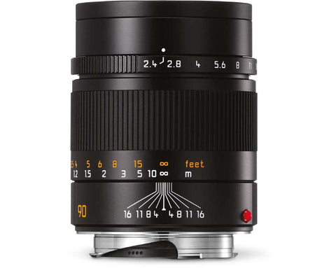 Leica SUMMARIT-M 90mm f/2.4 (Black Anodized finish)