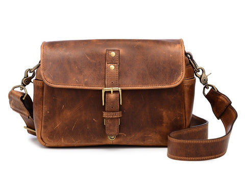 ONA Leather Bowery Antique Cognac