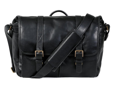 ONA Leather Brixton Black