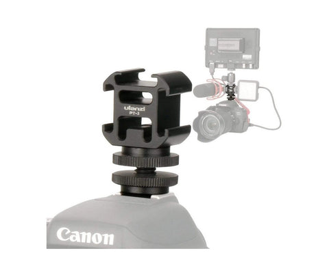 ULANZI 0915 PT-3S Triple Cold Shoe Mount