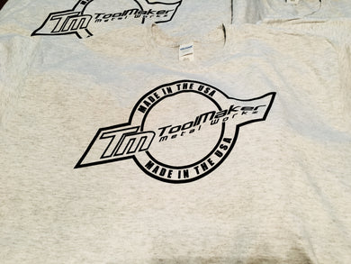 Apparel-Toolmaker Metalworkz Made in USA Logo T-shirt