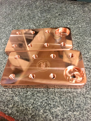 Copper 7 Lug Battery Terminals