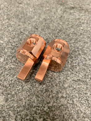Copper 1/0 to 4ga Stub Amplifier Inputs