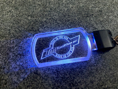 Acrylic Color Changing LED RGB Keychain/Dangler