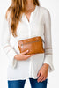 Nappy Clutch in Tan | Nappy Clutch in Tan | Livvy + Harry | Livvy + Harry