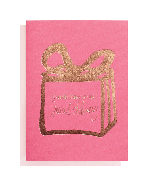 Special Delivery Greeting Card | Livvy + Harry