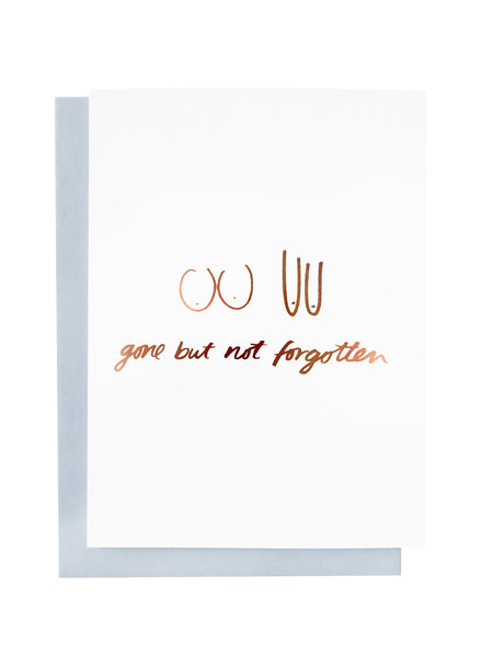 Gone But Not Forgotten Greeting Card | Livvy + Harry