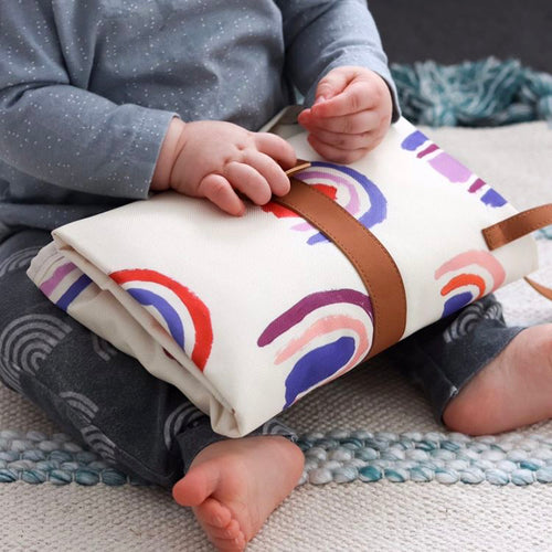 Travel Baby Change Mat Sunshine Fruit