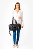 Denver Duffel Nappy Bag in Black | Denver Duffel Nappy Bag in Black | Livvy + Harry | Livvy + Harry